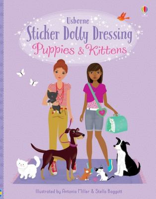 Puppies and Kittens (Sticker Dolly Dressing)