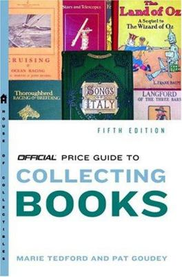 The Official Price Guide to Books