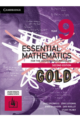 Essential Mathematics GOLD for the AC (2nd Edition) - Year 9: Student Book (Print & Digital) - SECONDHAND