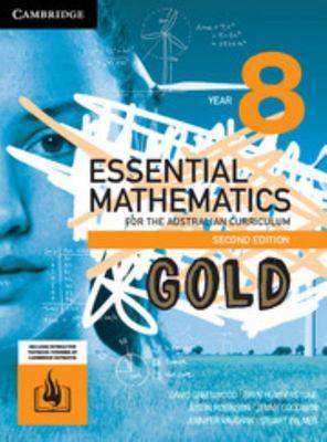 Cambridge Essential Mathematics Year 8 Gold AC 2nd Edition- SECONDHAND