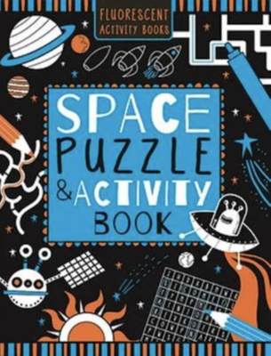 Space Puzzle & Activity Book
