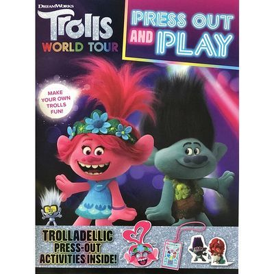 Trolls World Tour: Press Out and Play
