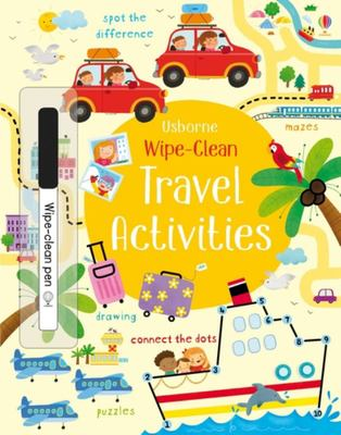 Travel Activities (Usborne Wipe-Clean)