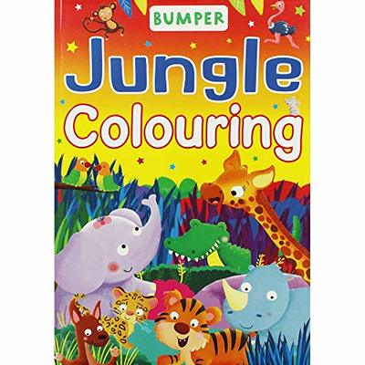 Bumper Colouring Jungle