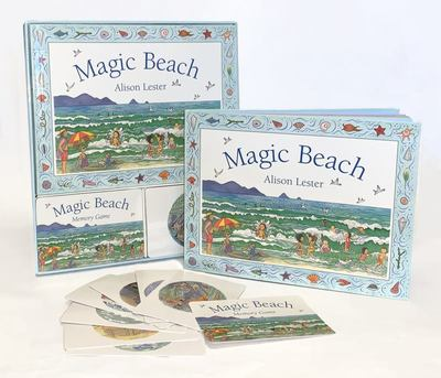Magic Beach Book and Memory card game