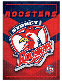 NRL Puzzle Team Logo Sydney Roosters Puzzle 1,000 pieces