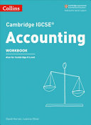 Cambridge IGCSE(tm) Accounting Workbook (Collins Cambridge IGCSE(tm))