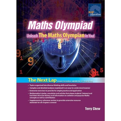 Maths OlympiadUnleash the Maths Olympian in You! : the Next Lap!