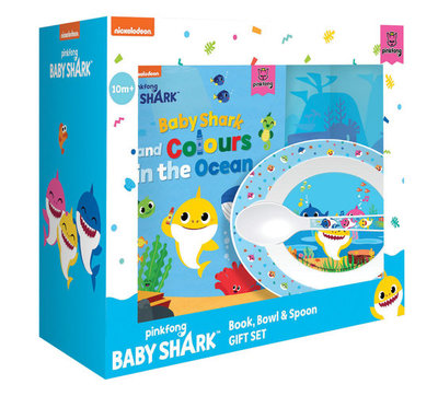 Baby Shark: Book, Bowl and Spoon Gift Set