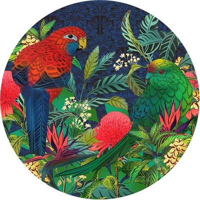 Flox 1000pc Round Puzzle Kakariki and Waratah