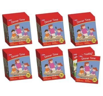 BB909  Letters & Sounds Phase 6 Set 2 Fiction - 6 Pack