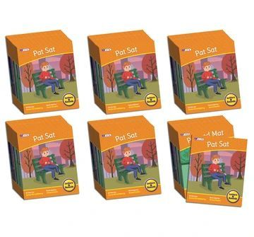 BB905  Letters & Sounds Phase 2 Set 2 Fiction - 6 Pack