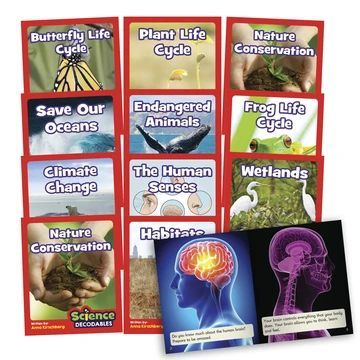 BB104 Science Decodables Phase 6 Non-Fiction
