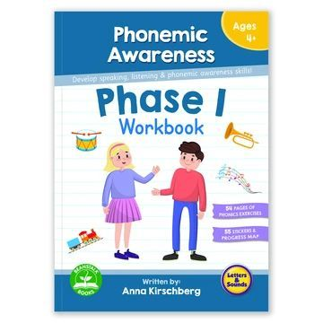 BB118 Phase 1 Phonemic Awareness Workbook