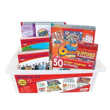 JL276 Letters & Sounds Phase 6 - Spelling Kit