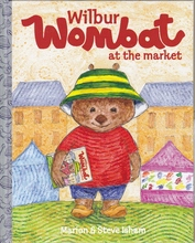 Homepage wilbur wombat goes to the market
