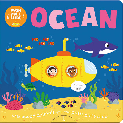 Ocean - Push and Pull Slide Books