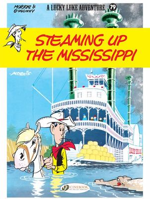 Steaming up the Mississippi - Lucky Luke