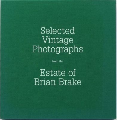 Selected Vintage Photographs From The Estate Of Brian Brake