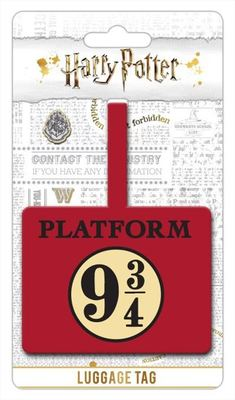Harry Potter Luggage Tag 9 & 3 Quarters