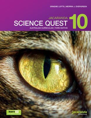 Jacaranda Science Quest 10 AC 3rd Ed LearnON and Print - SECONDHAND
