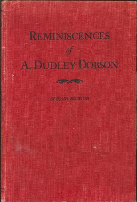 Reminiscences of Arthur Dudley Dobson