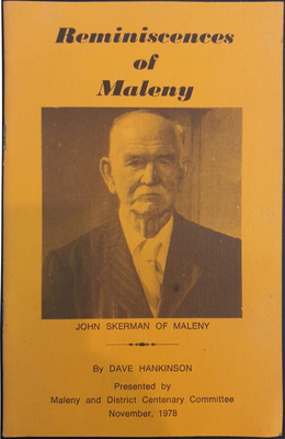 Large maleny bookshop reminiscences of maleny