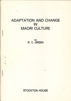 Adaptation and Change in Maori Culture