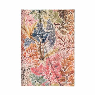 Paperblanks Journal -  Kilburn, Anemone, Mini, Lined - Hardcover, Wrap Closure, 85 Gsm, Ribbon Marker, Pouch