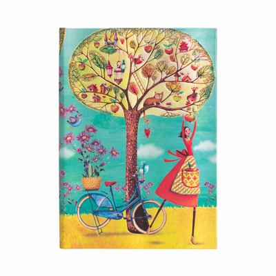 Mila Marquis, Autumn Apples, Midi, Lined - Hardcover, 120 Gsm, Ribbon Marker, Pouch, Elastic Closure