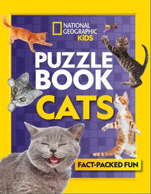 Puzzle Book Cats - Brain-Tickling Quizzes, Sudokus, Crosswords and Wordsearches