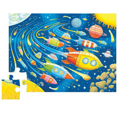 Space Race 24pc Canister Puzzle
