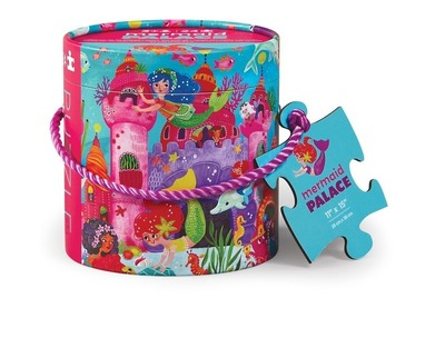 Mermaid Palace 24pc Canister Puzzle