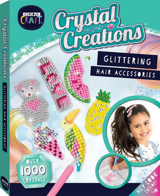 Glittering Hair Accessories: Crystal Creations Kit