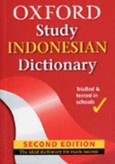 Oxford Study Indonesian Dictionary 2Ed - Oxford
