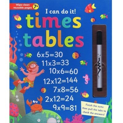 Large 9781787006317 i can do it times tables. a