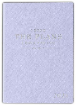 2021 My Yearly Planner I Know The Plans Blue
