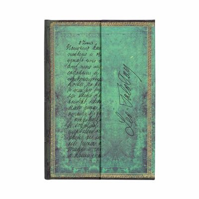 Emb, Tolstoy, Letter of Peace, Mini, Lined - Hardcover, Wrap Closure, 85 Gsm, Ribbon Marker, Pouch