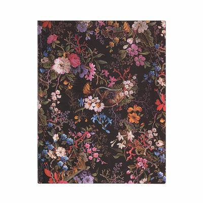 Paperblanks Journal - William Kilburn, Floralia, Ultra, Lined, Flexi - Flexi Softcover, 100 Gsm, Ribbon Marker, Pouch, Book Edge Printing