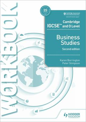 Cambridge IGCSE and o Level Business Studies Workbook , 2nd Edition