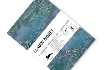 Claude Monet Gift & Creative Papers Book