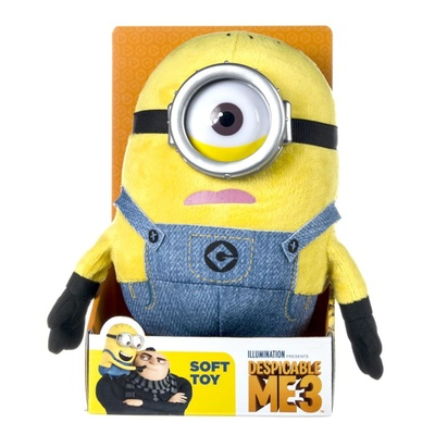 MINIONS SOFT TOY DESPICABLE ME