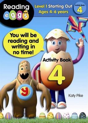 Starting Out Activity Book 4 - ABC Reading Eggs Level 1 (4-6 years)