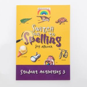 Switch On To Spelling Student Activities 3