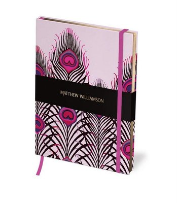 Journal - Peacock Heart Deluxe  Matthew Williamson