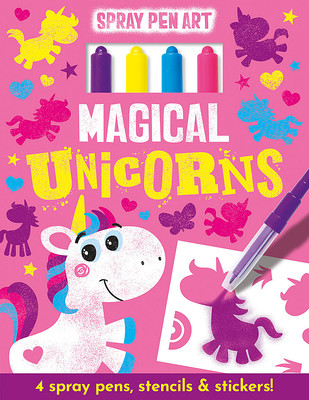 Magical Unicorns - Spray Pen Art