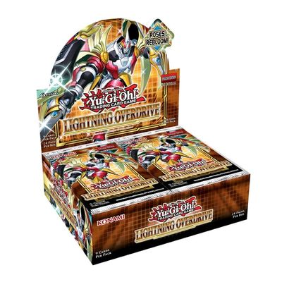 PREORDER [ MAY 13th ] Yugioh - Lightning Overdrive Booster Box