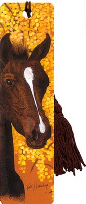 Bookmark - Horse and Wattle