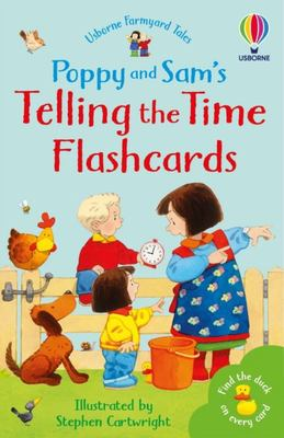 Poppy and Sam: Telling the Time Flashcards