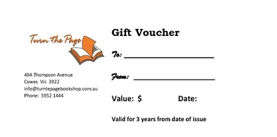 Large gift voucher new